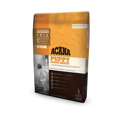 ACANA HERITAGE - Croquette Puppy large breed Chiot - 11,4kg
