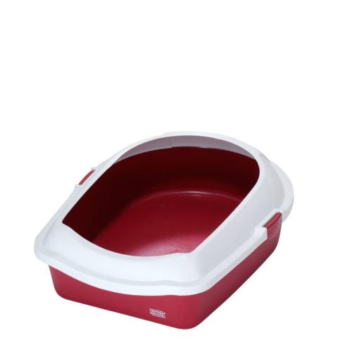 EBI - Toilette de Chat Space 60 Rouge