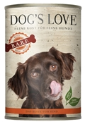 DOG'S LOVE - Boîte B.A.R.F Pur Boeuf Chien Adulte - 400gr