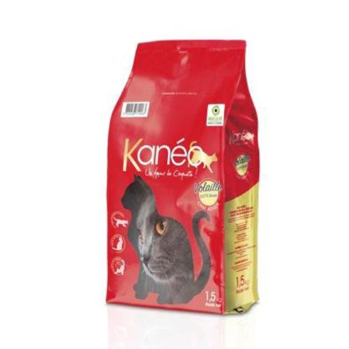 KANEO - Croquette Volaille Chat Adulte - 1,5kg