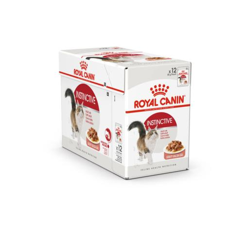 ROYAL CANIN - Sachet Humide Instinctive Chat Adulte - 12x85gr