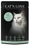 CAT'S LOVE - Gelée Classic Dinde Pur Chat Adulte - 85gr