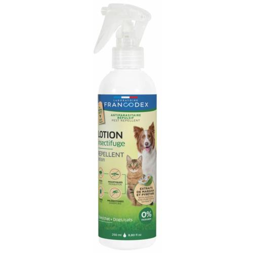 FRANCODEX - Lotion Insectifuge Chiens & Chats - 250ml