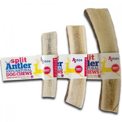 ANTOS ANTLER - Split Natural Dog Chew - Large