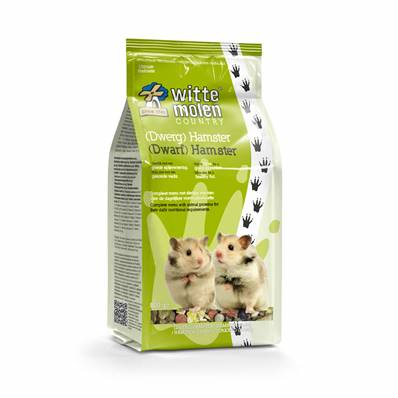 WITTE MOLEN - Country hamster (nain) - 800gr