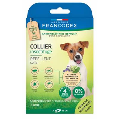 FRANCODEX - Collier Insectifuge Chien