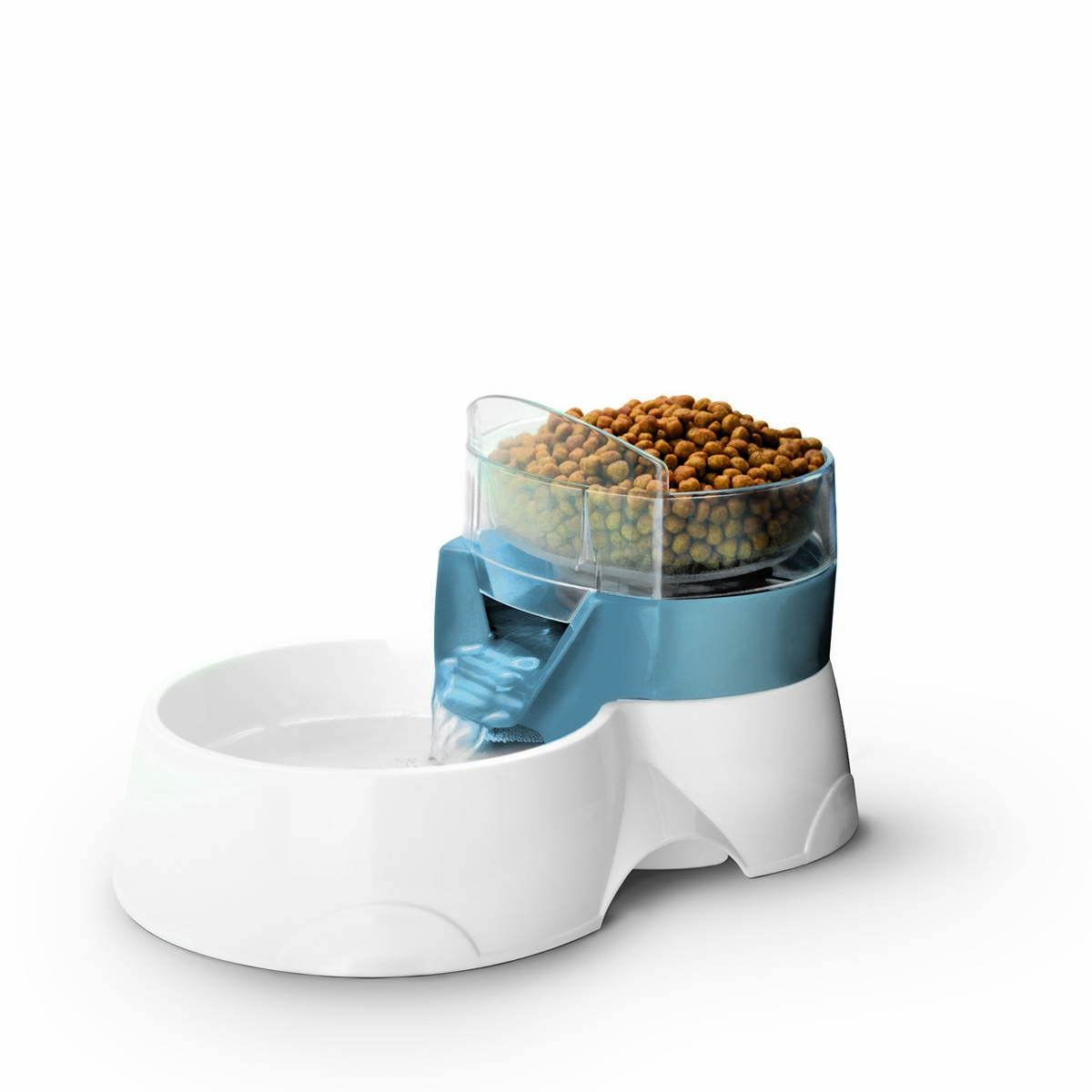 EBI - Pet Feeder 2In1 Bleu