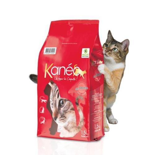 KANEO - Croquette Saumon Chat Adulte -1,5kg