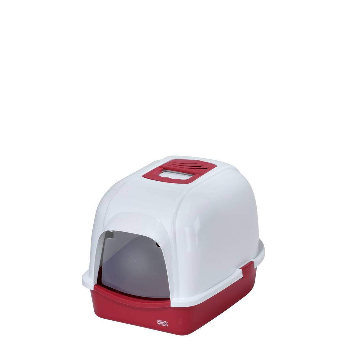 EBI - Toilette de Chat Eclipse 60 Rouge
