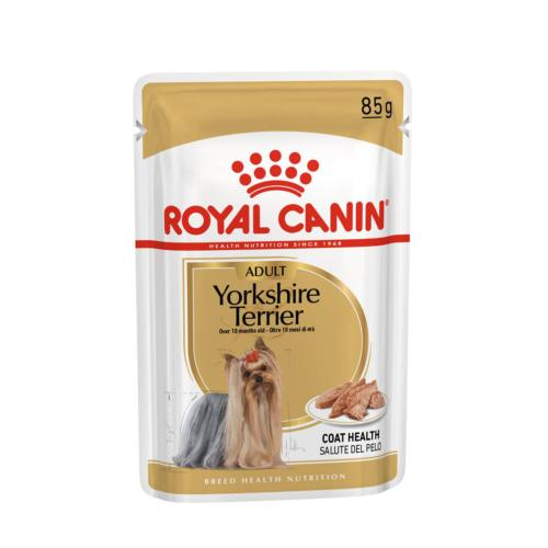 ROYAL CANIN - Sachet humide Chien Adulte Yorkshire - 12x85gr