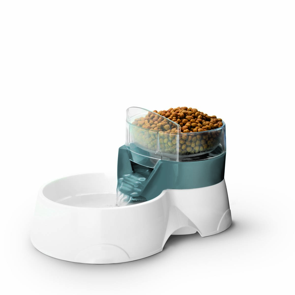 EBI - Pet Feeder 2In1 Gris