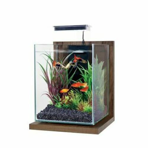 ZOLUX - Kit Aquarium Jalaya Noyer brun - 9,3L