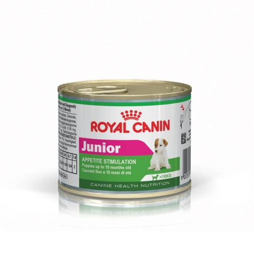 ROYAL CANIN - Boite humide Chiot Junior - 195gr