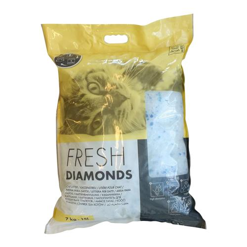 M-PETS - Litière Fresh Diamonds - 2,5kg