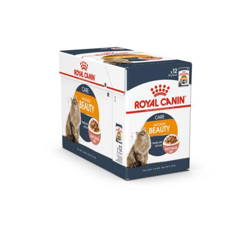 ROYAL CANIN - Sachet Humide Intense Beauty Chat Adulte - 12x85gr