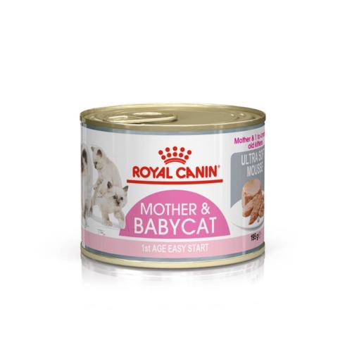 ROYAL CANIN - Sachet Humide Mother & Baby Chat Adulte & Chaton - 195gr