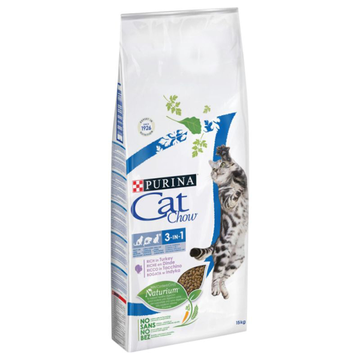 PURINA CAT CHOW - Croquette Spécial Care 3 en 1, Dinde Chat Adulte - 10kg