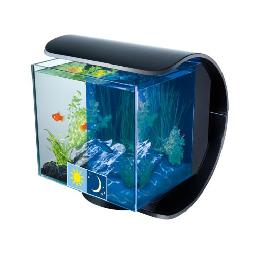 TETRA - Aquarium Silhouette LED avec filtration -12L