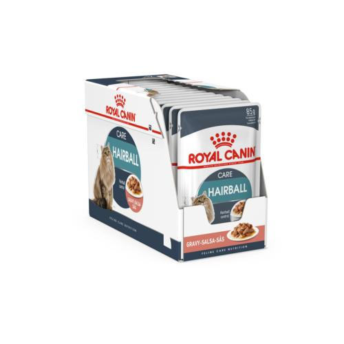 ROYAL CANIN - Sachet Humide FCN Hairball Care Chat Adulte - 12x85gr