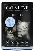 CAT'S LOVE - Gelée Veau Pur Chaton - 85gr