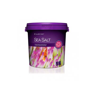 AQUAFOREST - Sea salt - 22kg