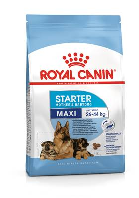 ROYAL CANIN - Croquette Starter Mother & Baby Chien Adulte & Chiot Maxi - 15kg