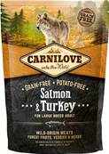 CARNILOVE - Croquette Saumon et Dinde Large Breed Chien Adulte - 1,5kg