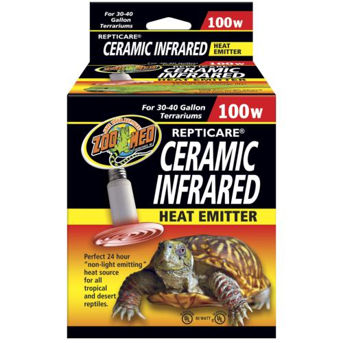 ZOOMED - Ceramic infrared, Chauffage pour terrarium - 100W
