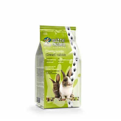 WITTE MOLEN - Country lapin (nain) - 800gr