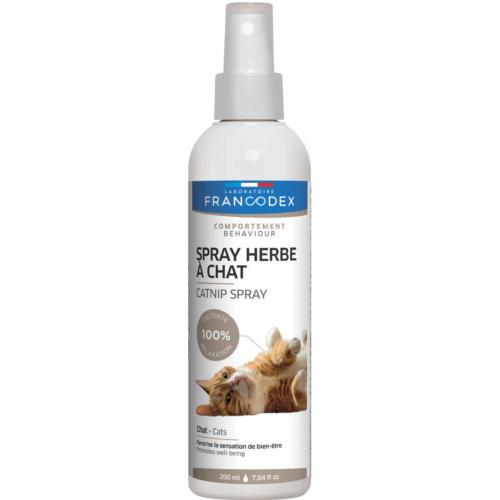 FRANCODEX - Spray à l'Herbe à Chat Chaton et Chat - 200ML